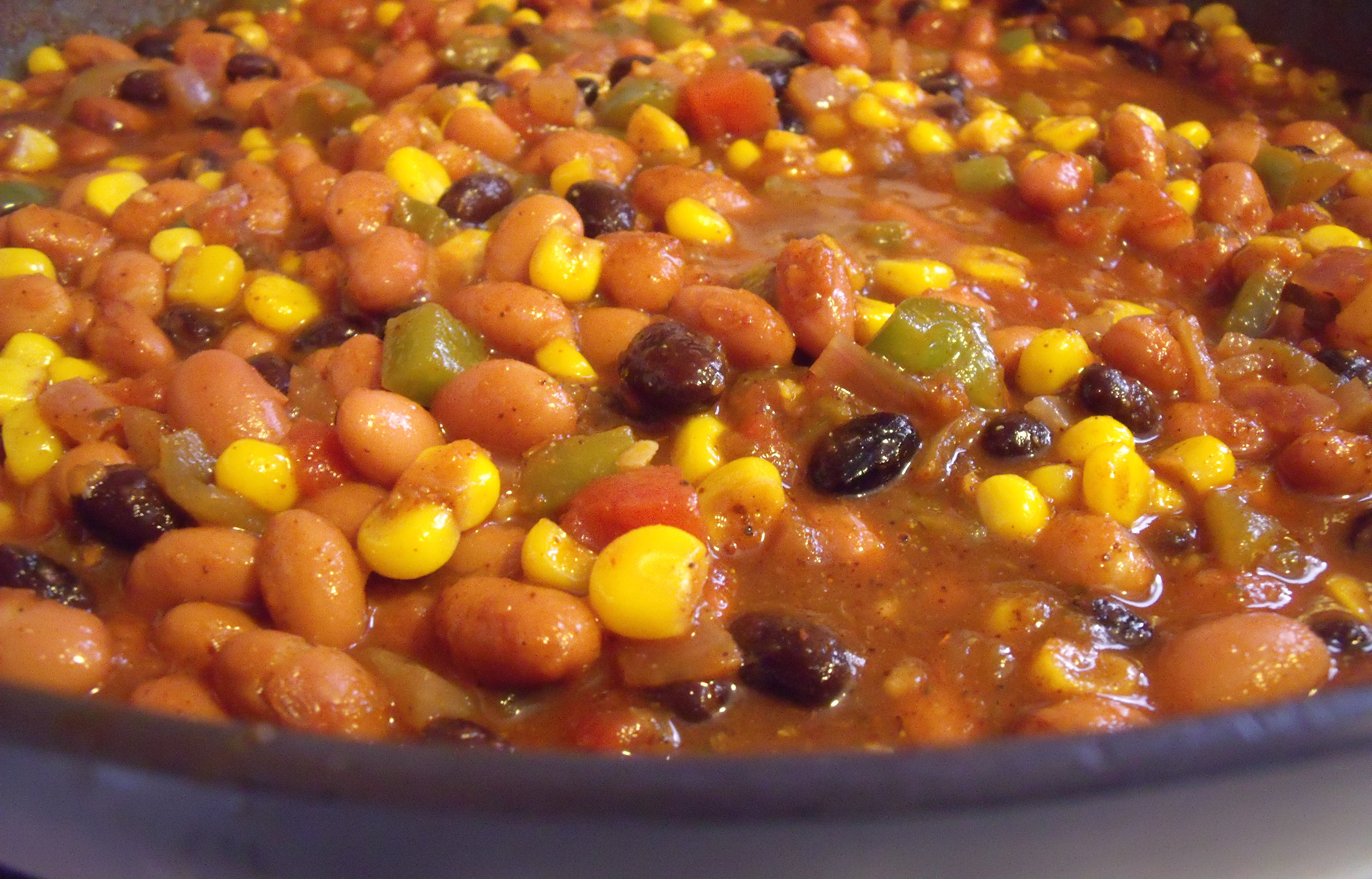 Vegetarian Chili | the purple spoon