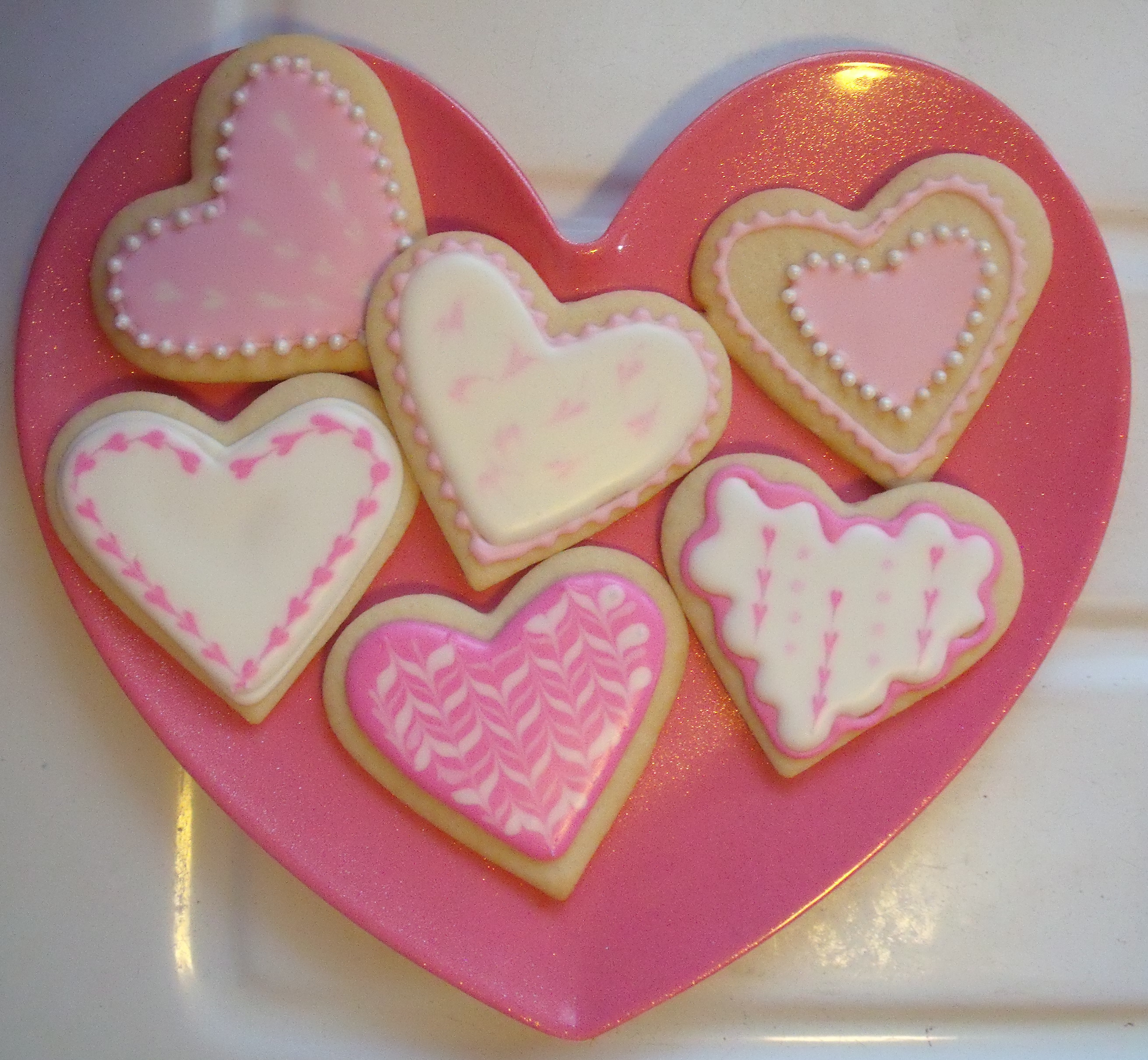 Valentine Sugar Cookies | the purple spoon