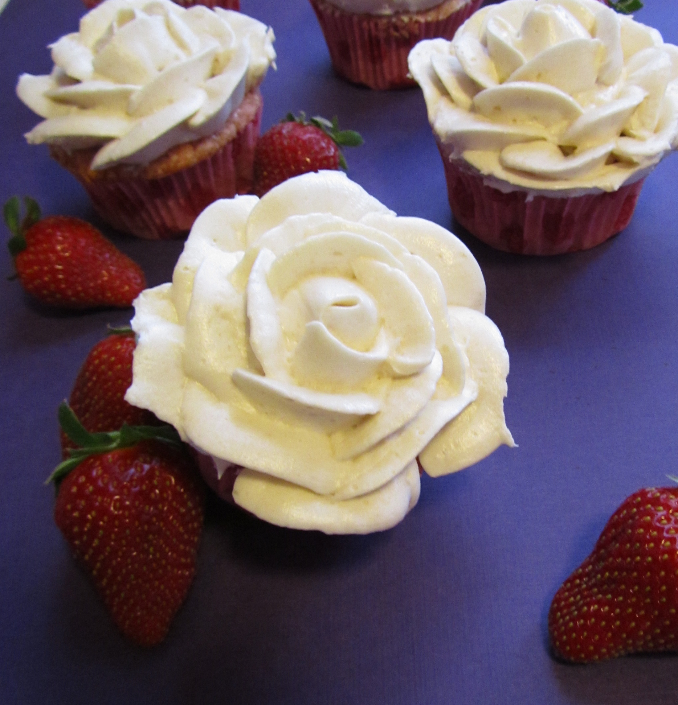 Strawberries And Cream Cupcakes Strawberries n 39 Cream Cupcakes