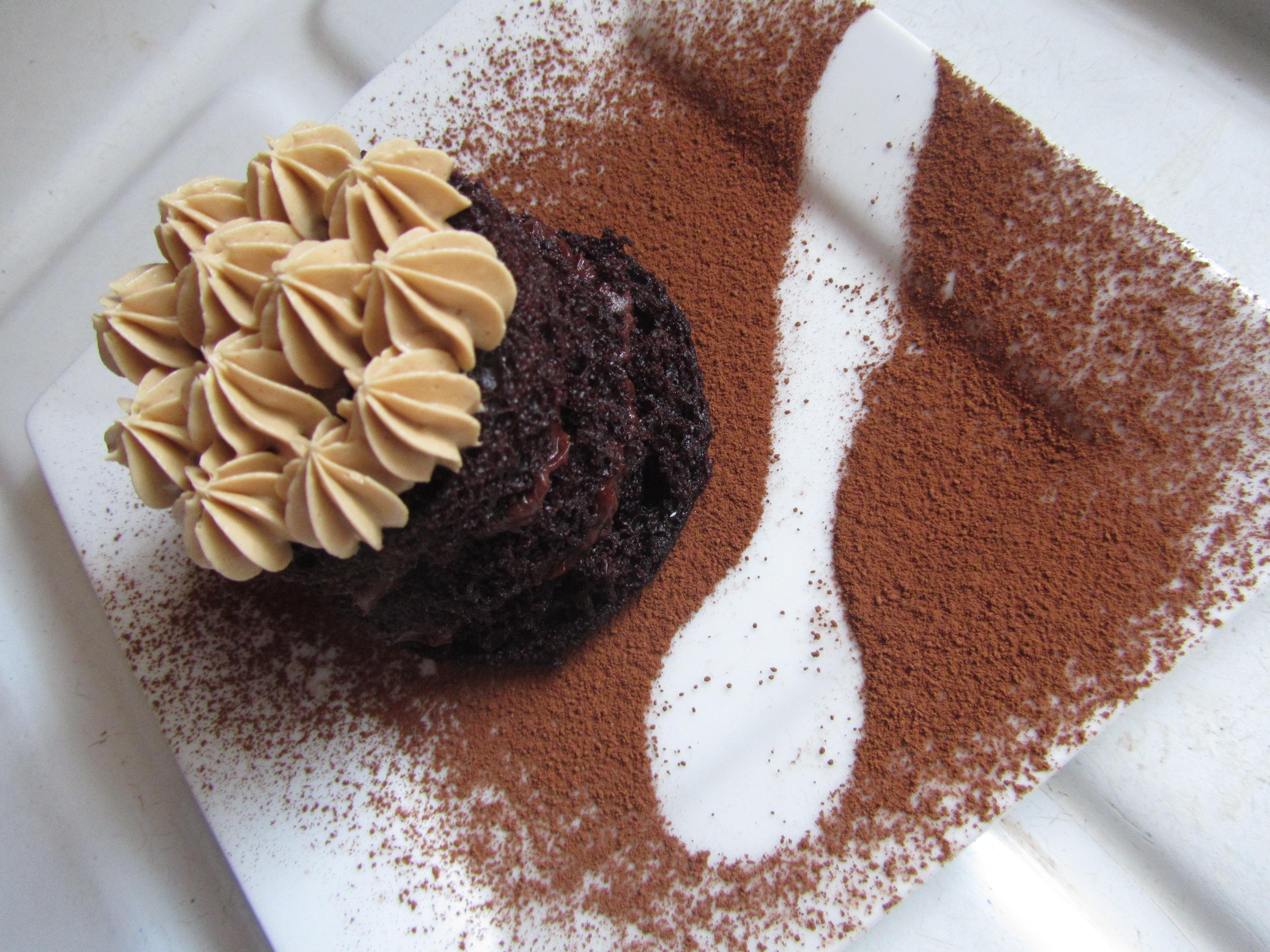 Chocolate Coffee Mini-Cakes with a Walnut Espresso Ganache | the ...