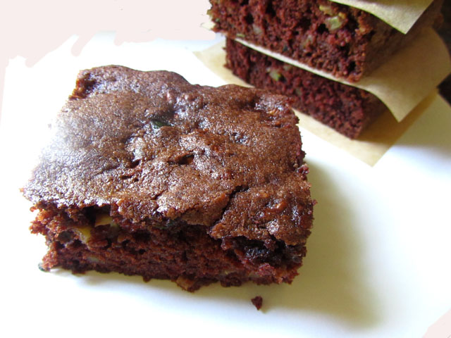 Chocolate Zucchini Cake Recipe With Pureed Zucchini