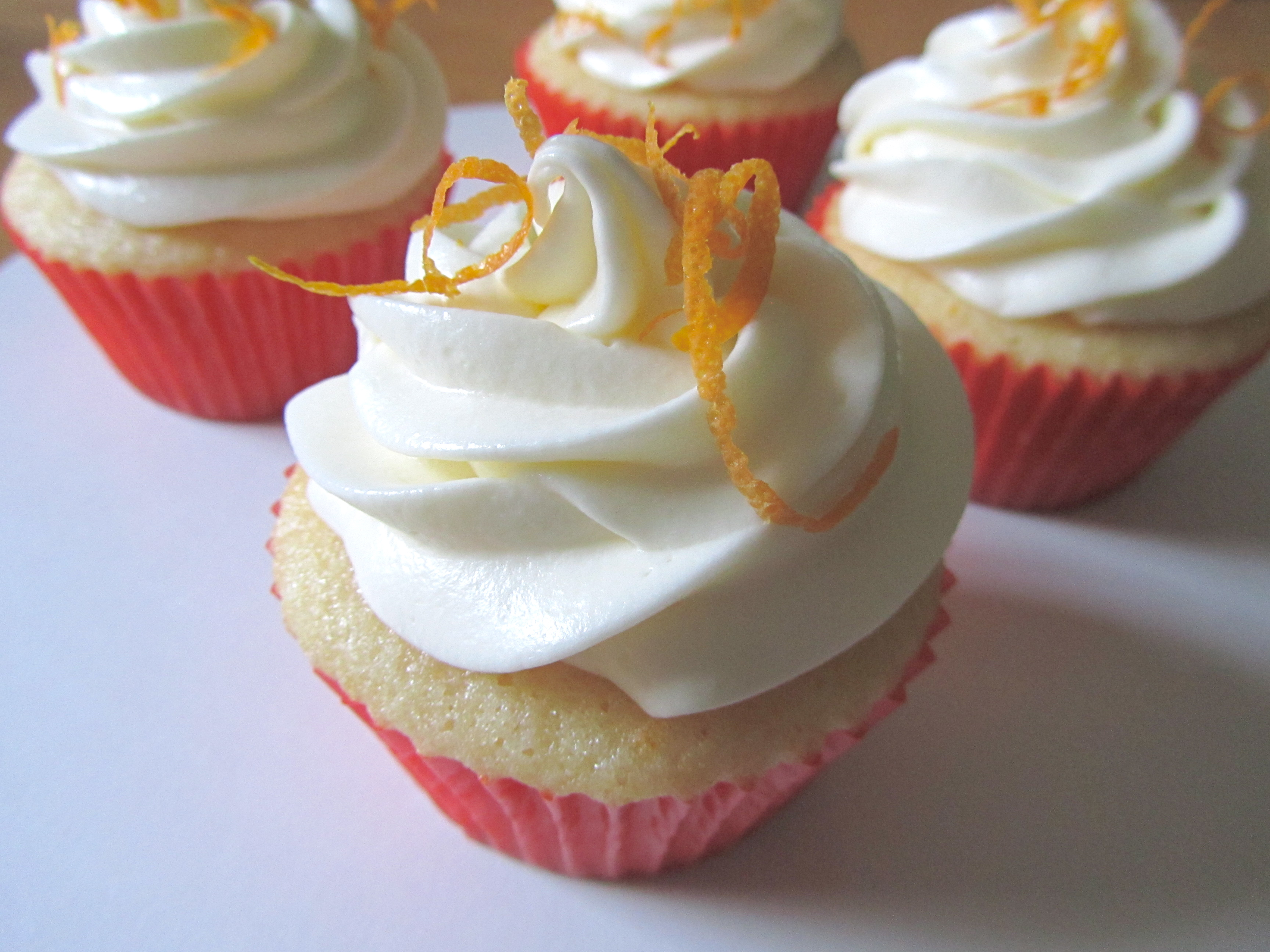 Creamsicle Cupcakes | the purple spoon