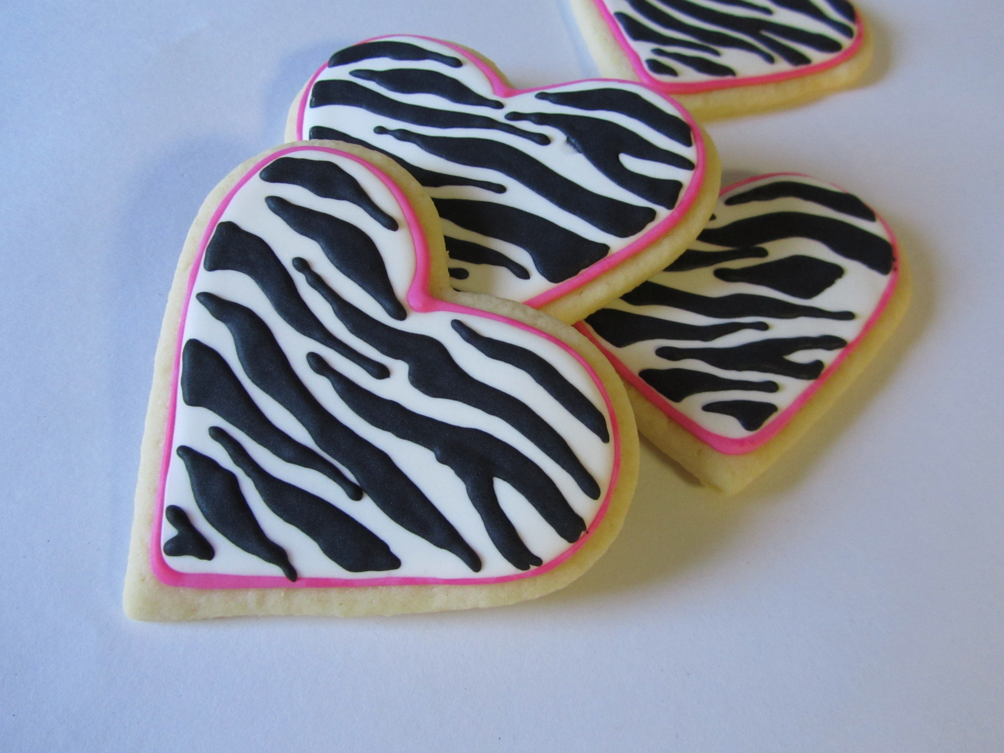 How to Make Zebra Stripe Cookies foto